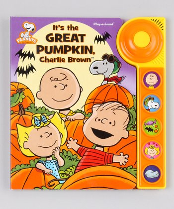 It's the Great Pumpkin, Charlie Brown Board Book