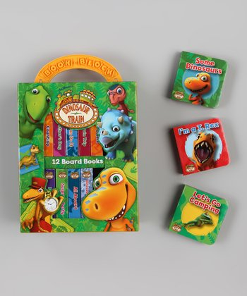 My First Library: Dinosaur Train Board Books