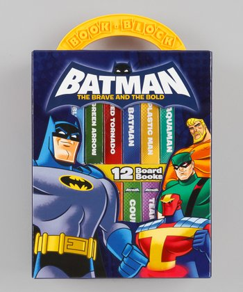 Batman Board Book Box Set