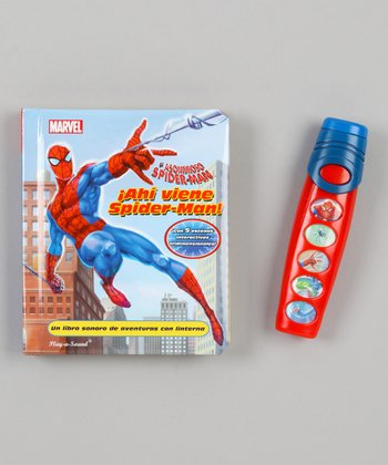 Spanish Here Comes Spider-Man Sound Book