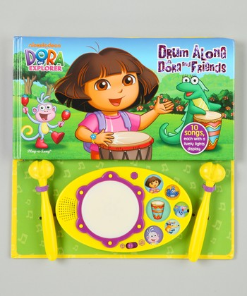 Dora & Friends Drum Along Board Book