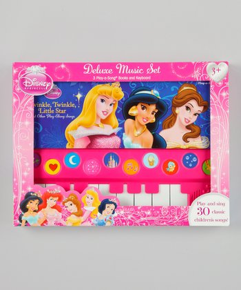 Princess Deluxe Keyboard Music Set