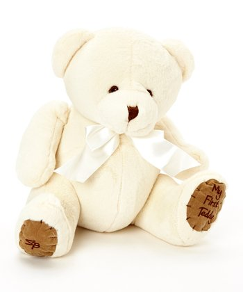 Cream Bear 10'' Plush Toy