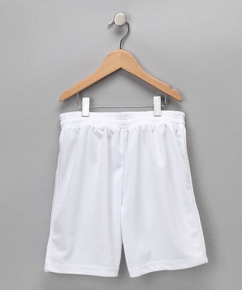 White Dynamo Shorts - Kids & Adults