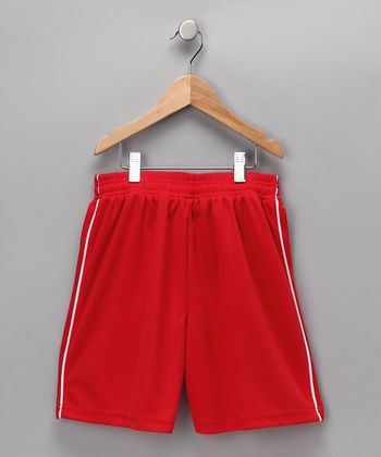 Red Dynamo Shorts - Kids & Adult