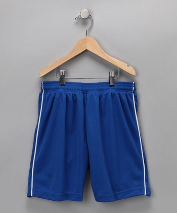 Royal Blue Dynamo Shorts - Kids & Adult