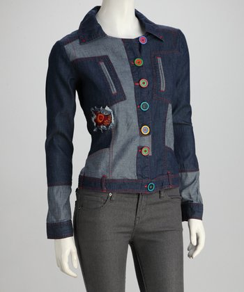 Denim Blue Jacket - Women
