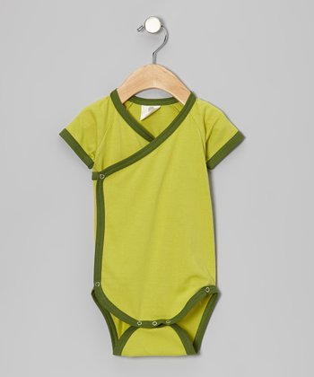 Dill Organic Wrap Bodysuit - Infant