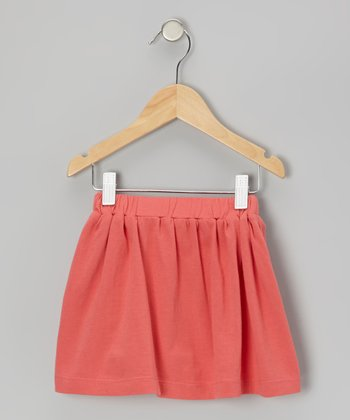 Coral Organic Skirt - Infant & Toddler