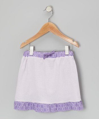 Lilac Organic Ruffle Skirt - Infant, Toddler & Girls