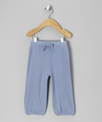 Starry Night Rib Knit Organic Sweatpants - Infant, Toddler & Kids