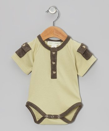 Bog Pocket Organic Bodysuit - Infant