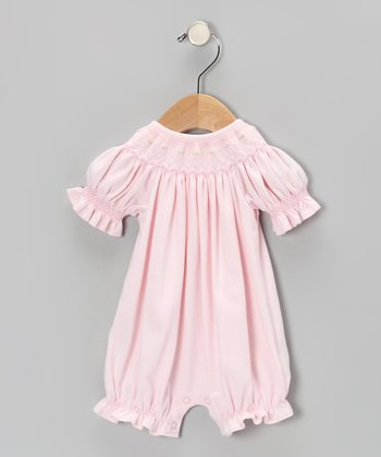 Pink Juliet Bishop Romper - Infant