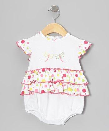 White Dragonflies Bubble Bodysuit - Infant