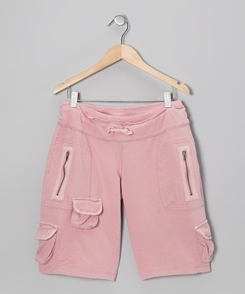 Bunny Embroidered Bermuda Shorts