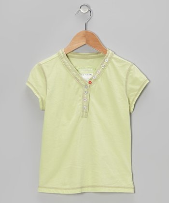 Apple Green Henley