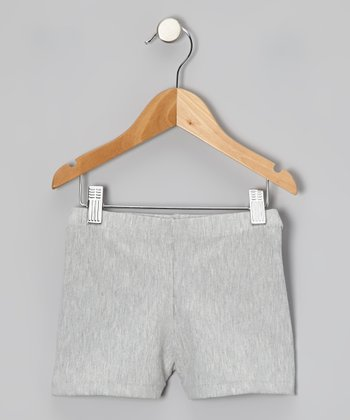 Heather Gray Shorts - Toddler & Girls