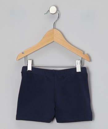 Navy Shorts - Toddler & Girls