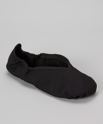 Black Canvas Slipper - Women