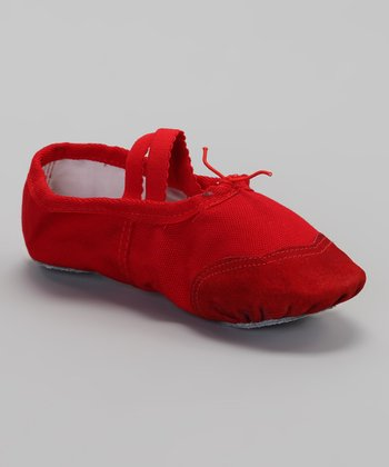 Red Ballet Slipper