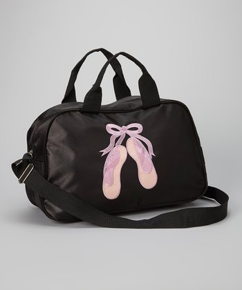 Black Twinkle Toes Duffel Bag