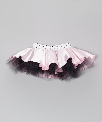 Pink & Black Tutu - Girls
