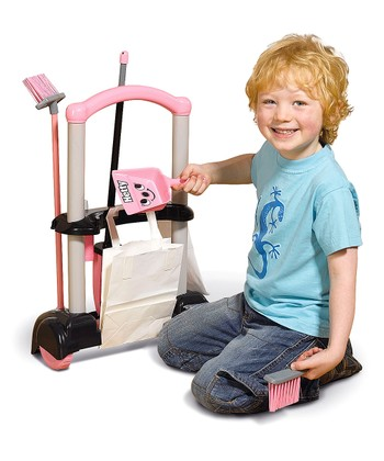Hetty Cleaning Trolley Toy Set