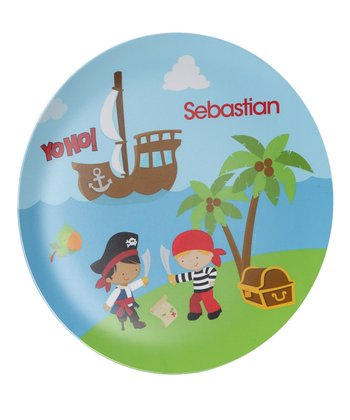 'Yo Ho' Pirate Personalized Plate