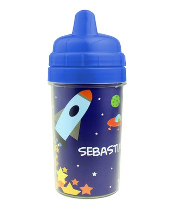 Rocket Launch Personalized Sippy Cup