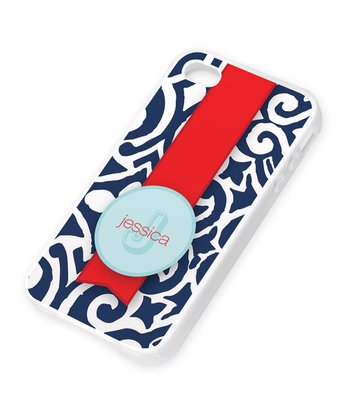 Gorgeous Blue Personalized Case for iPhone 4/4S