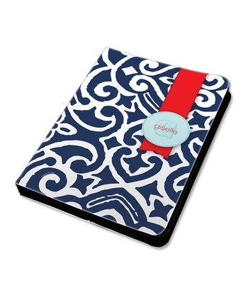 Gorgeous Blue Personalized Sleeve for iPad mini