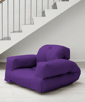 Grape Rhino Mini Chair