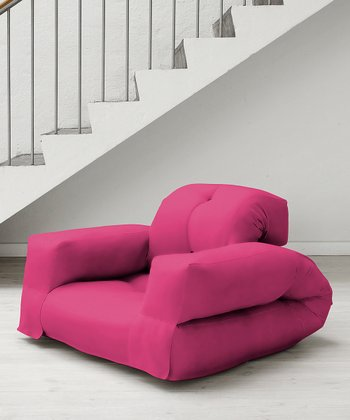 Fuchsia Rhino Mini Chair