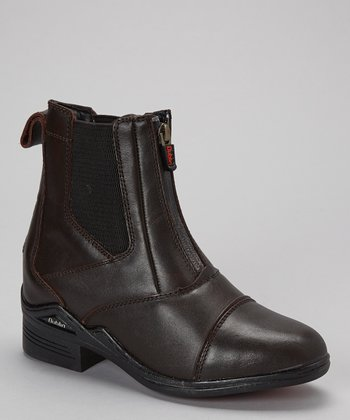 Dark Brown Intensity Leather Boot - Women