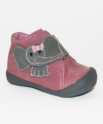 Dusty Rose Victoria Ankle Boot