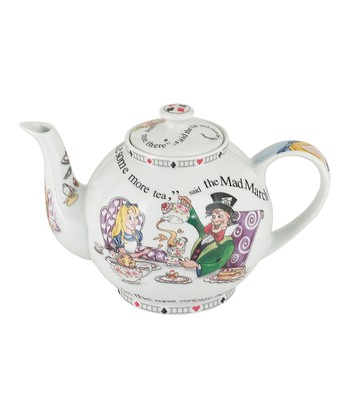 Alice in Wonderland 30-Oz. Teapot