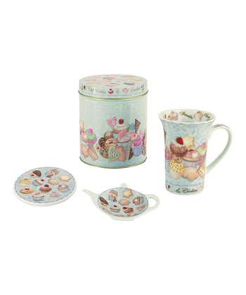 Cupcakes & Cookies Tea Set