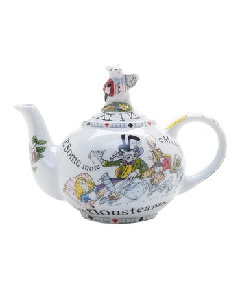 Alice in Wonderland 48-Oz. Teapot