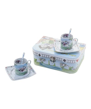 Alice in Wonderland Espresso Cup Set