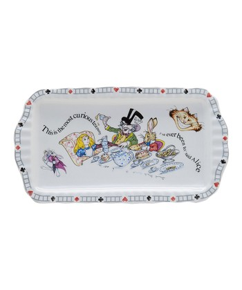 Alice in Wonderland Rectangular Cookie Tray
