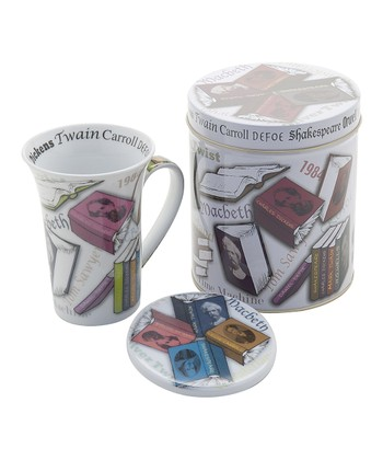 Novel-Tea Mug & Coaster Set
