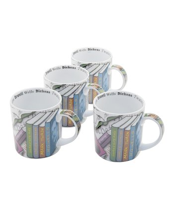 Novel-Tea Mug - Set of Four