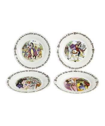 Snow White Dessert Plate Set