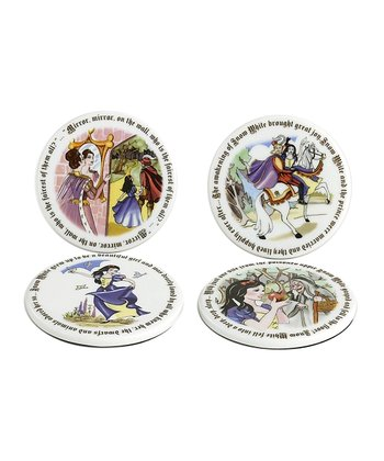 Snow White Coaster Set