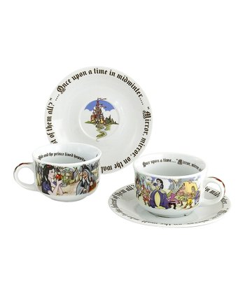 Snow White Cup & Saucer Set