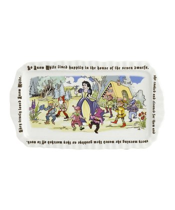 Snow White Rectangular Tray