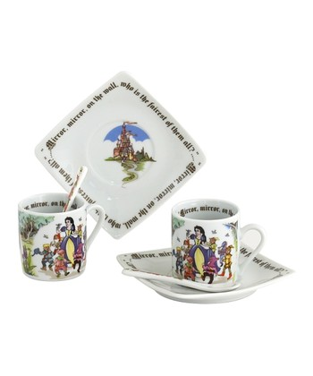 Snow White Cup & Spoon Set