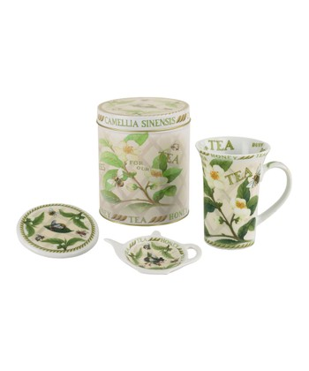 Tea Plant & Honey Bee Tea Set