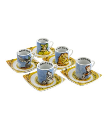 Wizard of Oz Cup & Saucer - Set of Five