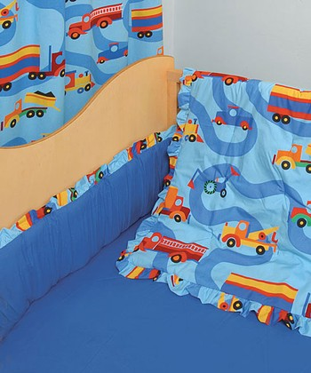 Trucks Crib Bedding Set